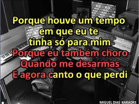 Marco Rodrigues - O Tempo (Karaoke) Versão