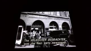 Nazi rise to power movie at Holocaust Museum