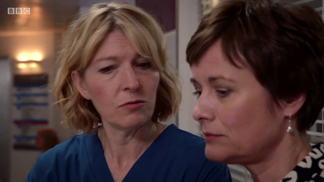 Holby City's Serena Gets Thank