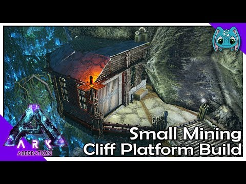 Small Mining Cliff-Platform Build | S7Ep30 | ARK: Aberration