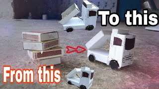 How to make truck in Machis box now cool idea