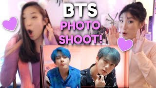 Baixar BTS MAP OF THE SOUL : PERSONA Jacket Shooting Sketch SISTERS REACTION | 방탄소년단 Concept Photoshoot