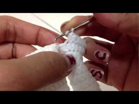 Hướng dẫn cách móc găng tay một ngón p2