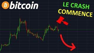 BITCOIN LE  DERNIER CRASH COMMENCE  !? btc analyse technique crypto monnaie