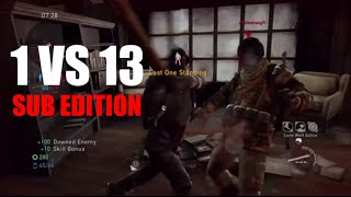 1 vs 13 Comeback (Sub Edition) - The Last of Us: Remastered Multiplayer (Book Store)