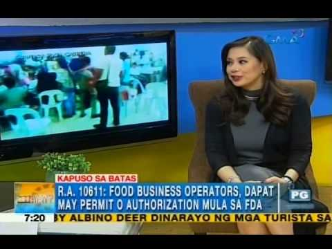 What are the legal actions for food poisoning? | Unang Hirit