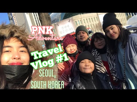 TRAVEL VLOG : Seoul, South Korea | PNK Adventure