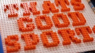 Coolest LEGO Art Ever