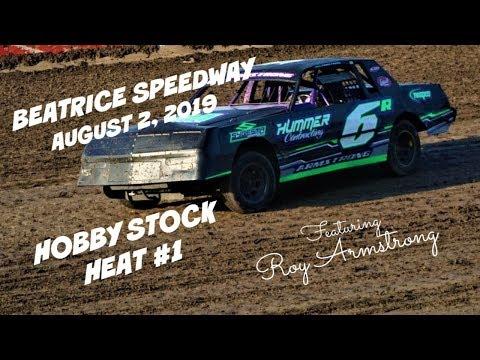 08/02/2019 Beatrice Speedway Hobby Stock Heat #1