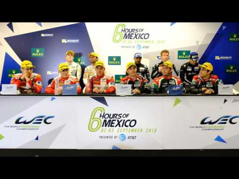 WEC - 2016 6 Hours of Mexico City - Class Winners Press Conference
