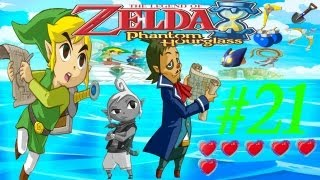 "The Legend of Zelda:Phantom Hourglass Parte 21 ""Isla de las ruinas"" Cometando"