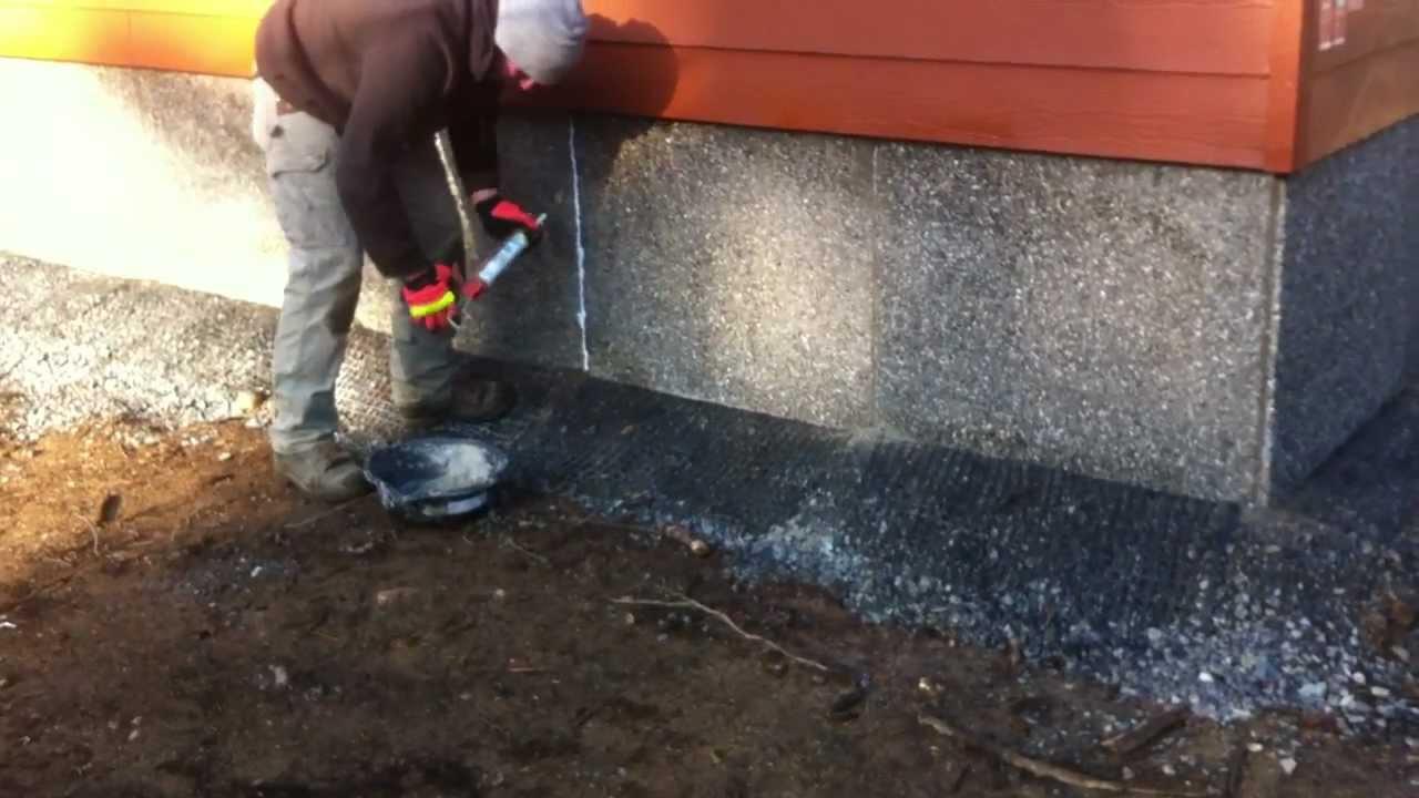 Duraskirt Sealing Joints On Aggregate Skirting 360 419