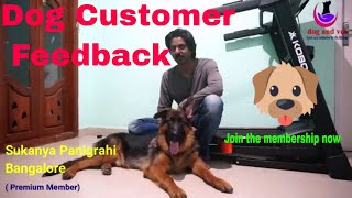 Dog Customer Feedback: Premium Membership and why this is best for your dog? Check by yourself