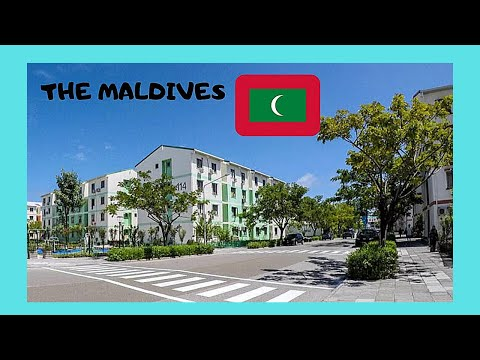 THE MALDIVES, issues facing the new island of HULHUMALE (INDIAN OCEAN)