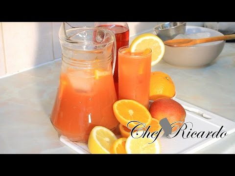 How To Make Jamaica Healthy Drink, From Chef Ricardo Cooking