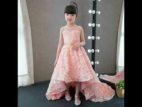 3b1421141 Beautiful fairy dresses new collection baby girl - YouTube