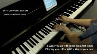 James Arthur - Say You Won't Let Go - Piano Cover & Sheets