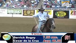 bfi team roping top 5 2009