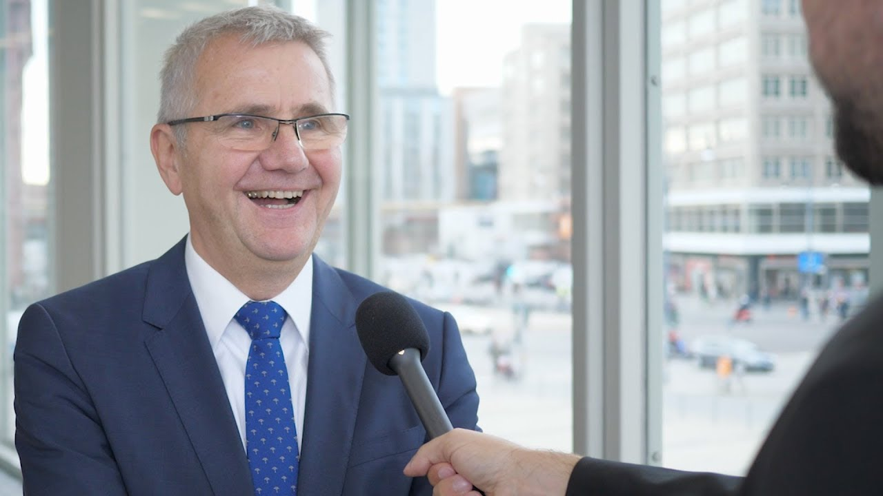 Funke-Chef Manfred Braun versprüht gute Laune