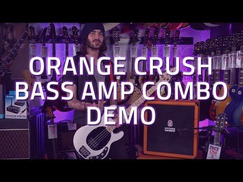 Orange Crush Bass Amp Combo - Demo