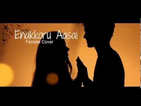 Female cover of Teejay's Enakkoru Aasai