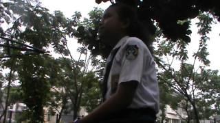 Musikalisasi Puisi SMP 3 Kota Tangerang kelompok Marsya dkk