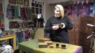 Fair Trade Wooden Boxes From Shared Earth