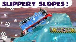 Thomas \u0026 Friends Toy Trains Strongest Engine and Slippery Slopes Train Toy Stories for kids TT4U