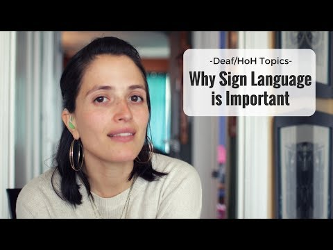 Why Sign Language is Important ❤ Jessica Marie Flores ❤