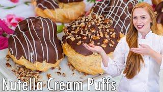 Nutella Cream Puffs