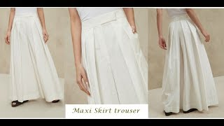 how to sew palazzo pants tutorial - Pleted palazo