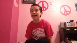 "My brother dancing to ""Good to be alive"" by Andy Grammer"