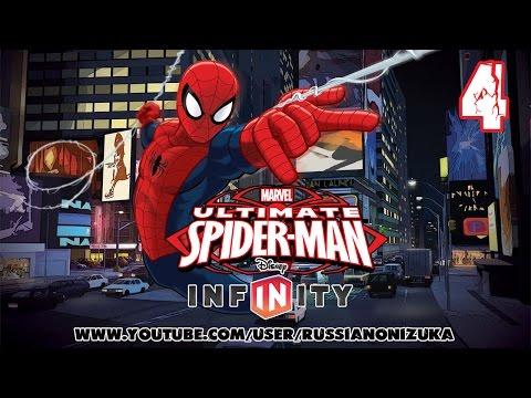 Мультик игра - СОВЕРШЕННЫЙ ЧЕЛОВЕК-ПАУК  (Ultimate Spider-Man ) прохождение #4 - ЖЕЛЕЗНЫЙ ЧЕЛОВЕК