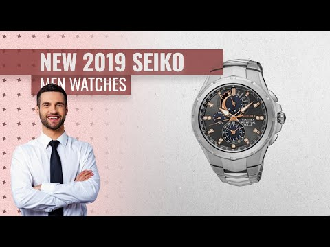 Top 10 Hot New Seiko Men Watches / Amazon UK New Releases 2019 | Valentine's Day Gift Guide