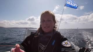 ZAPPING RÉSUMÉ ÉTAPE 2 - le Team Bretagne-CMB sur la Solitaire du Figaro