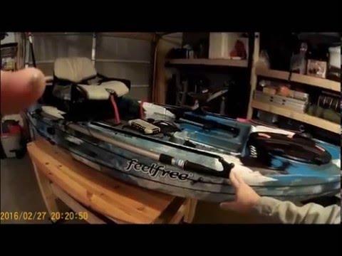 Kayak Feelfree Lure 11.5 Walk Through Review