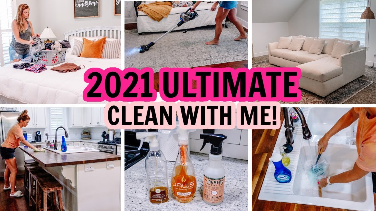 😍2021 ULTIMATE CLEAN WITH ME | EXTREME CLEANING MOTIVATION | Amy Darley