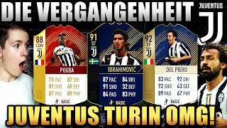 FIFA 18: JUVENTUS TURIN DIE VERGANGENHEIT!🔥⛔️ (DEUTSCH) - ULTIMATE TEAM - Icons & CO!