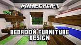 Minecraft: Bedroom Designs & Ideas - YouTube