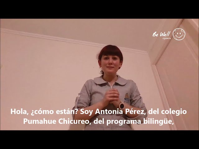 Historias de Bienestar de Cognita Chile: Antonia Pérez