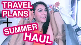 TRAVEL PLANS  + SUMMER 2016 HAUL | ENTERPRISEME TV