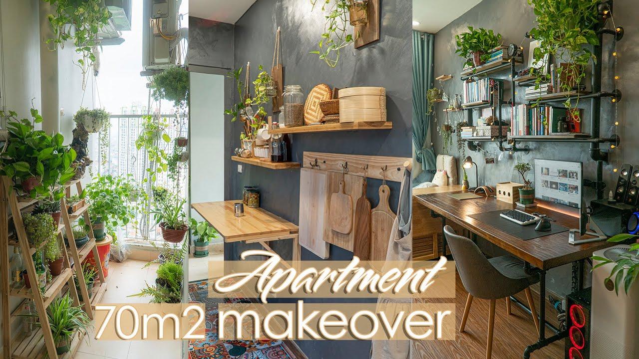 #9 Eng) My Cozy Apartment Makeover   DIY Trang trí lại căn hộ với chi phí thấp nhất  