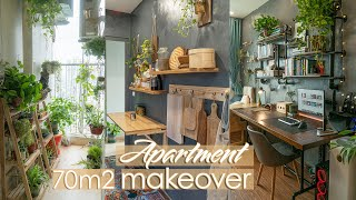 #9 Eng) DIY | My Cozy Apartment Makeover | ASMR Vlog