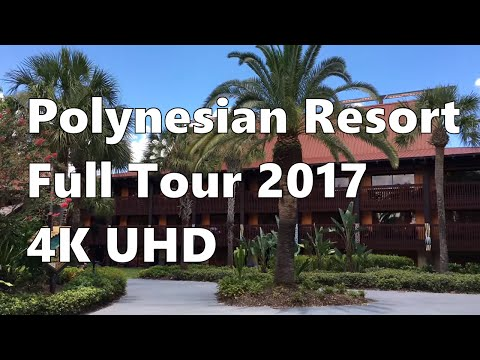 Disney's Polynesian Village Resort | Full Tour 2017 | 4K UHD | Walt Disney World