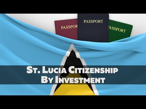 St. Lucia Citizenship By Investment