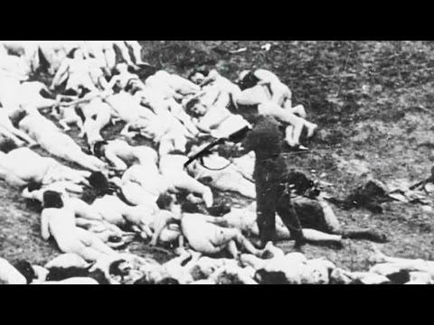 Холокост. Расстрел евреев