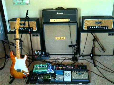kjl amps marshall 1959hw youtube. Black Bedroom Furniture Sets. Home Design Ideas