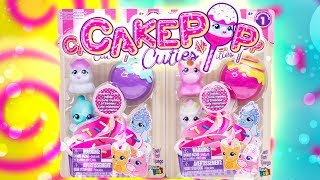CakePop Cuties Squishies Pets Series 1 Mystery Foam Cutie Blind Bag Toy Review