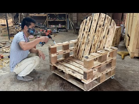 amazing-design-ideas-woodworking-project-cheap-from-pallet---build-a-outdoor-chair-from-old-pallets