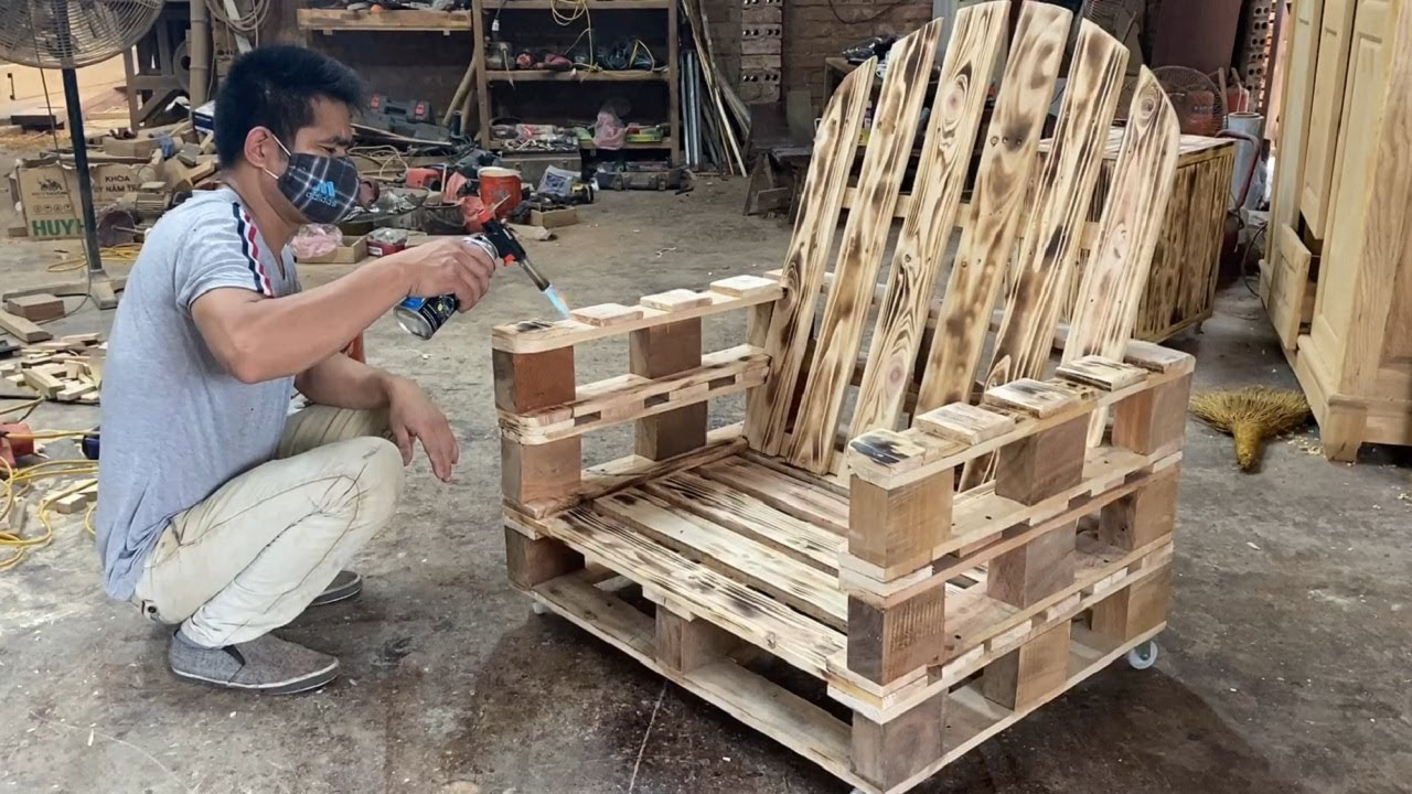 Amazing Design Ideas Woodworking Project Cheap From Pallet ... on Pallet Design Ideas  id=74371